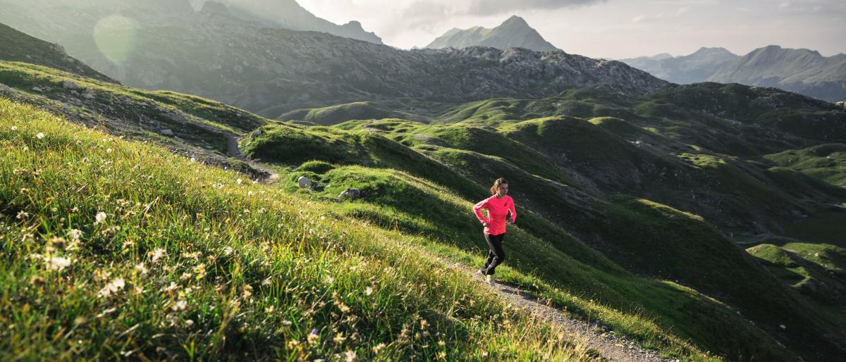 Trailrunning in Lech